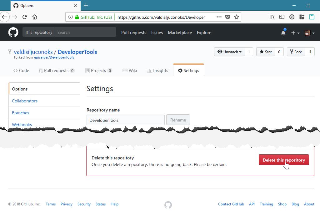 Module Dependencies in EPiServer DeveloperTools
